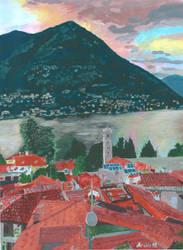 Lake Como by archiei