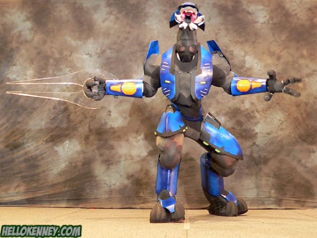 Halo Elite Cosplay by BionicleSangheili86