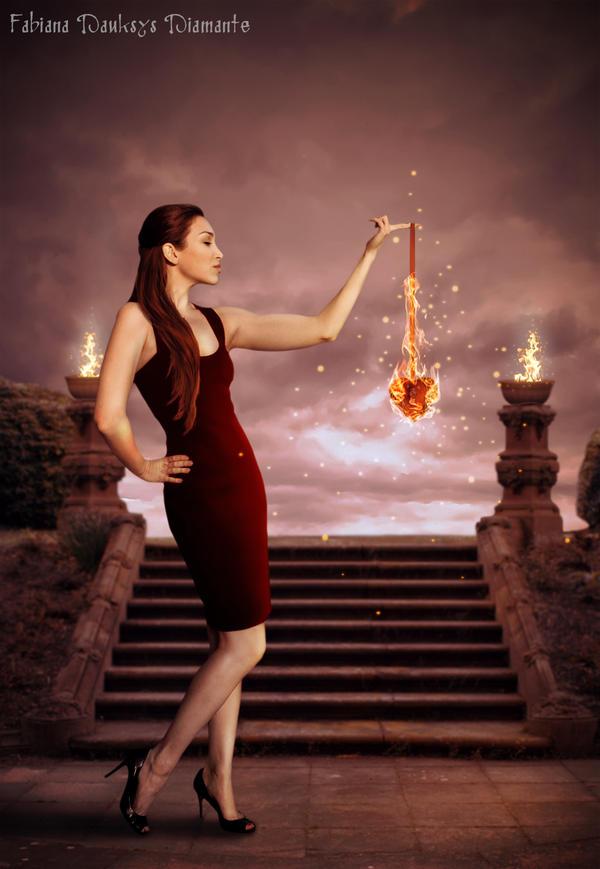 Burn heart by fabilua