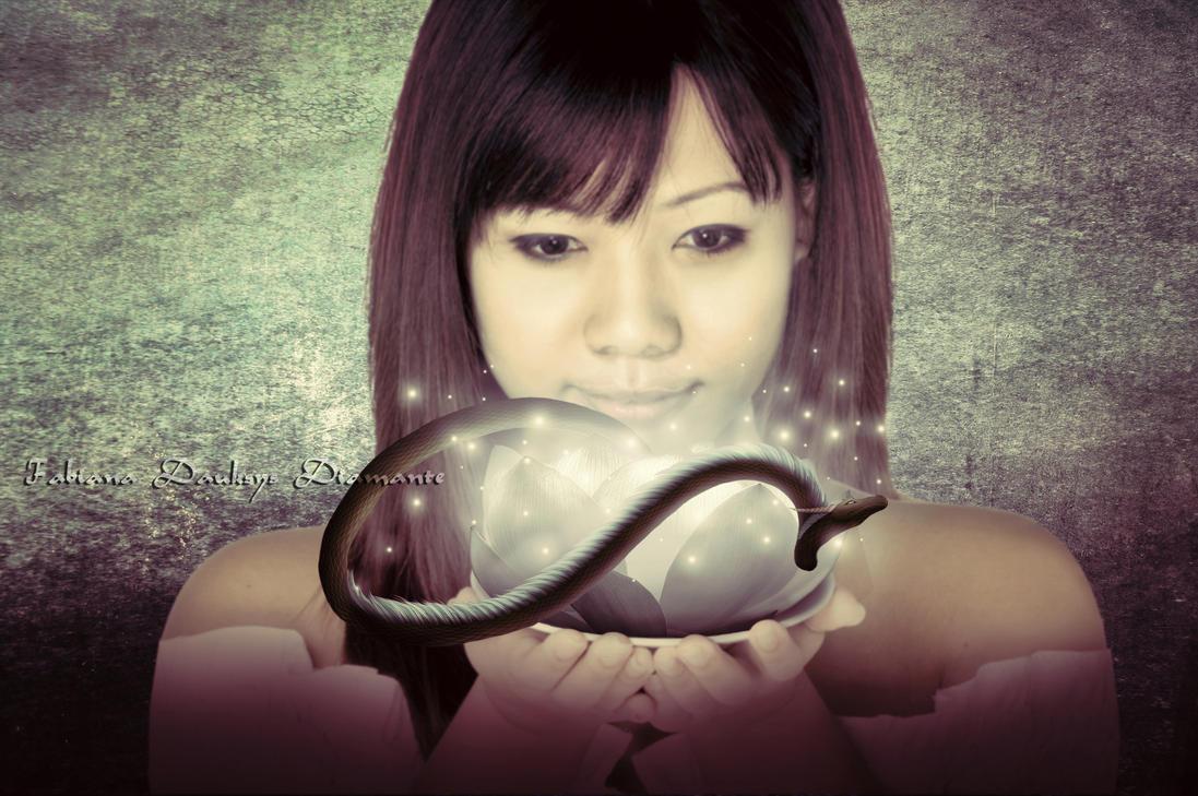 Dragon Lotus by fabilua