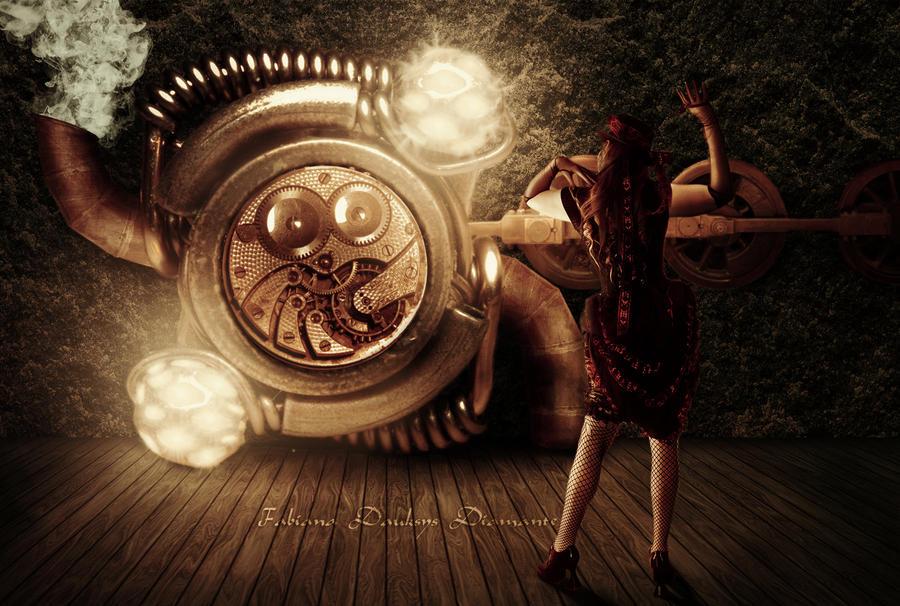 Steampunk Machine by fabilua