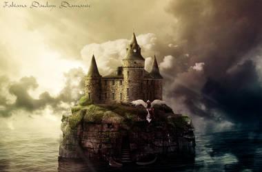 Castelo no mar by fabilua