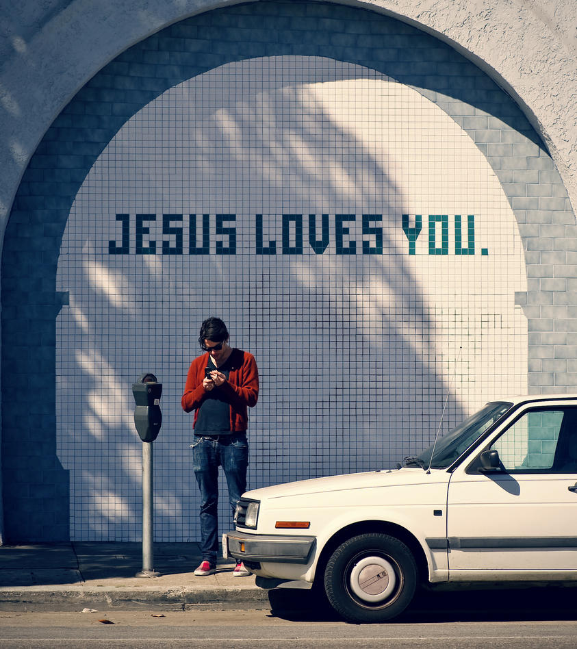 jesus loves you by mbennion76