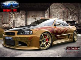 Nissan Skyline GTR-34 by BLaCKDesigN