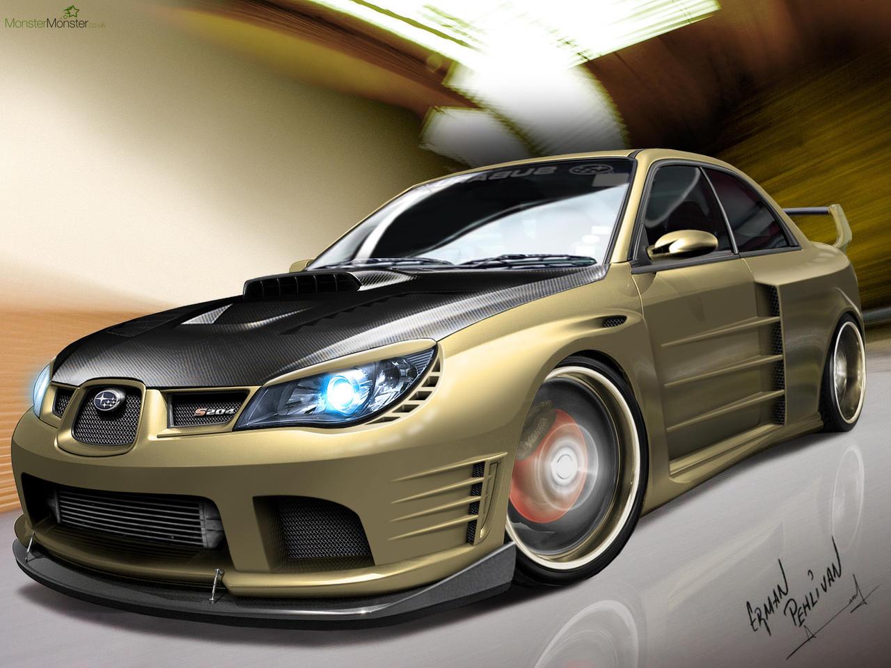 Subaru S204 Drift Machine by BLaCKDesigN
