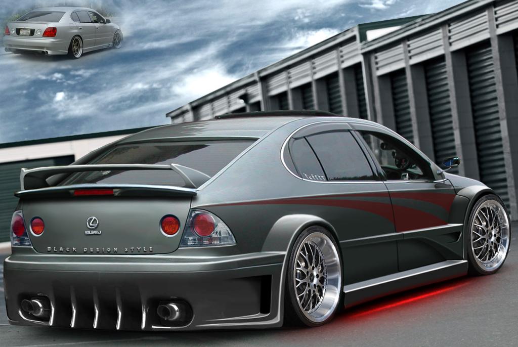 Lexus Is 300 Street Tuner Ver By Blackdesign On Deviantart