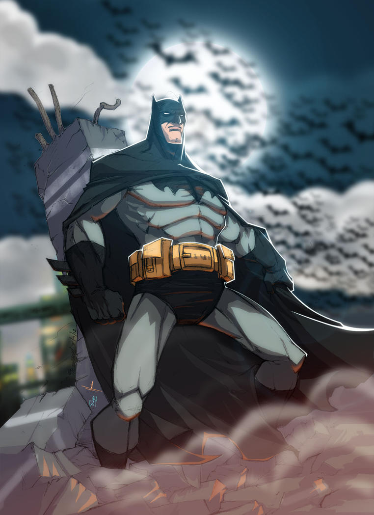 The Batman: Dark Knight Rises by yinfaowei