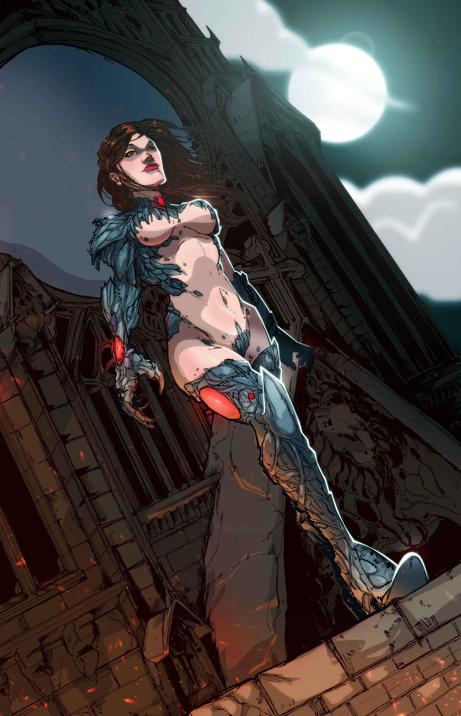 Witchblade colors BA-R20 by yinfaowei