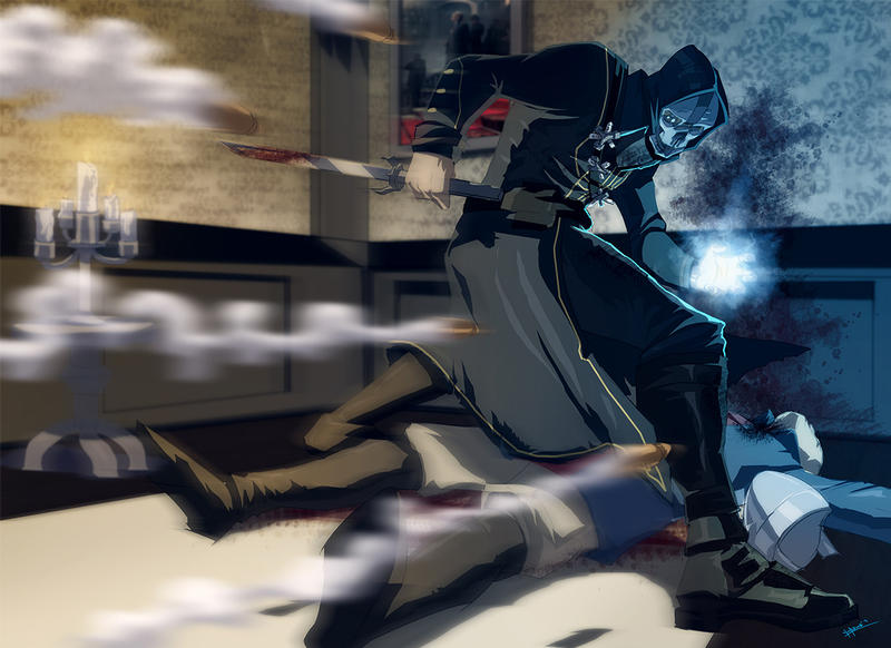Dishonored  time bending by yinfaowei d6kx5rp