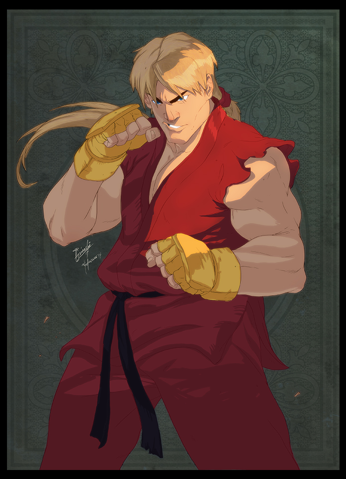 Ken Masters by yinfaowei