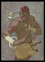 Dhalsim by yinfaowei