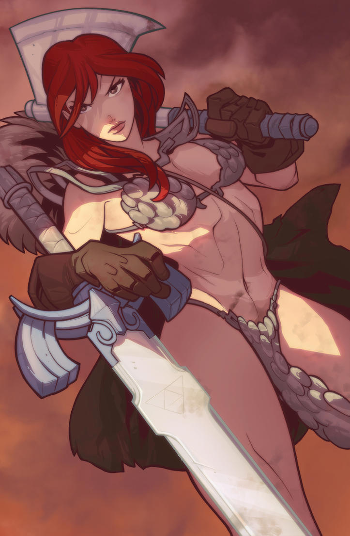 Red Sonja by yinfaowei