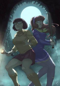 Mystery Inc :The girls _velma _daphne