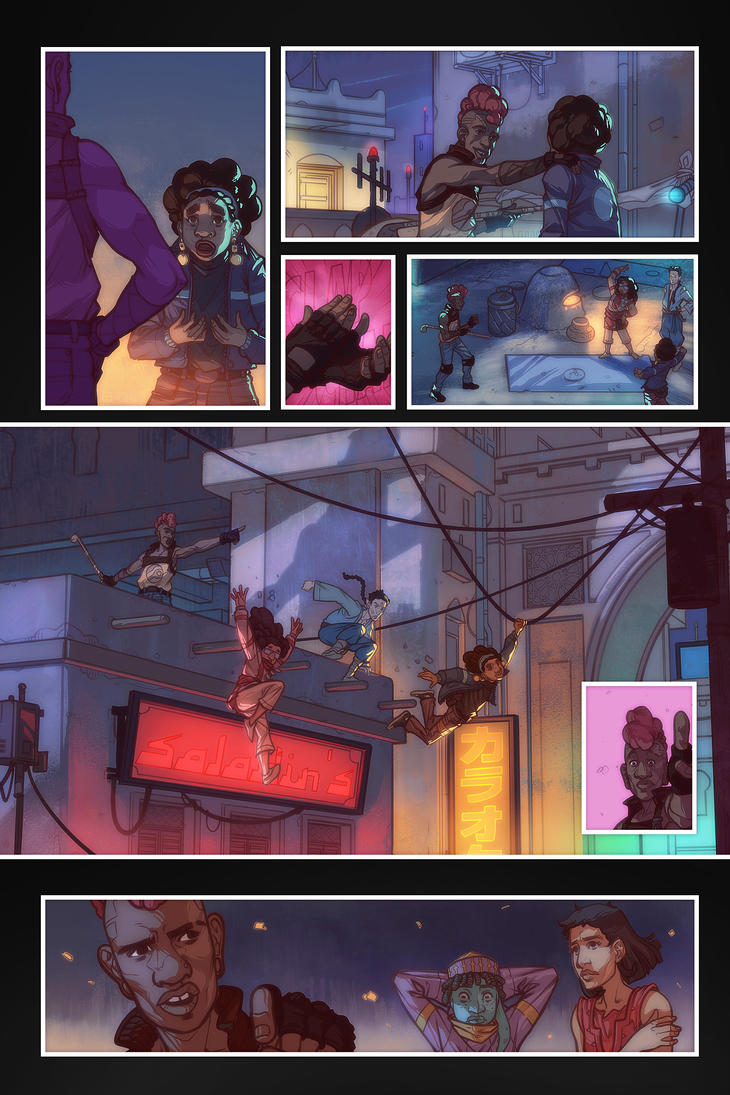 Under a Jovian Sun: Page 3 by yinfaowei