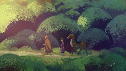 Tales From Earthsea Fanart by yinfaowei