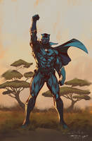 Black Panther Conqueror - Mark Stegbauer-Yinfaowei by yinfaowei