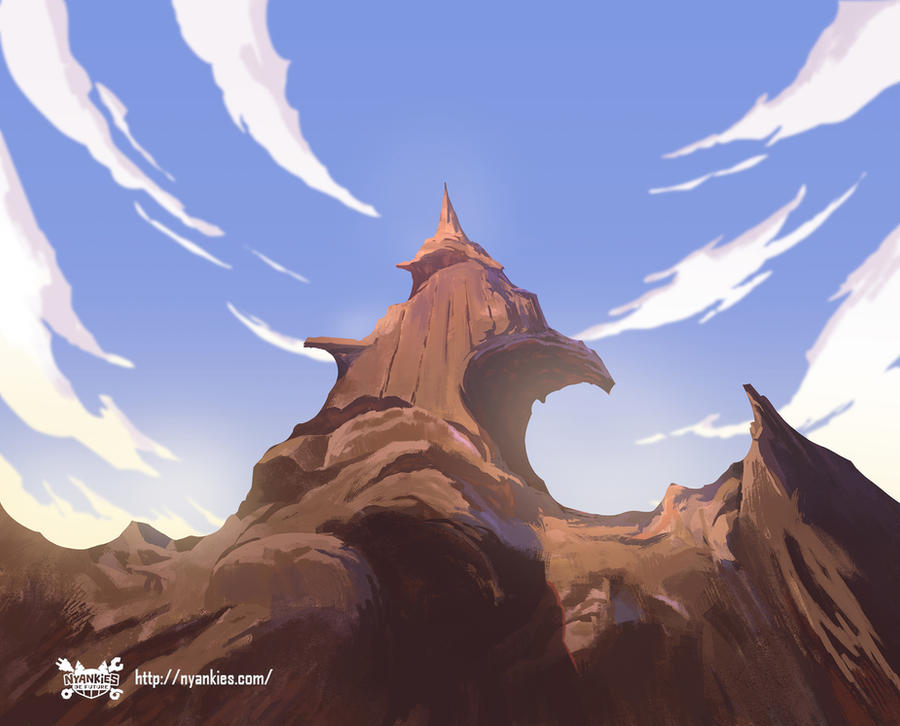 Nyankies de Future Animation background Painting by yinfaowei