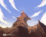 Nyankies de Future Animation background Painting