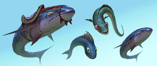 Fishes study by yinfaowei