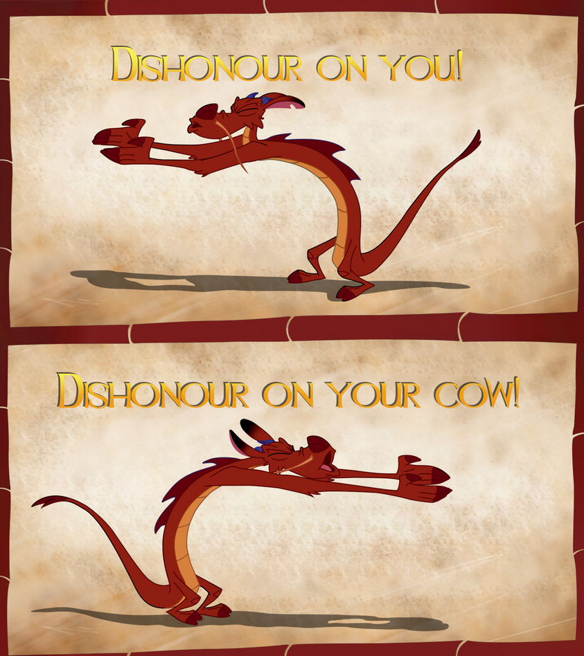 Dishonour  on your Cow! by Assiel
