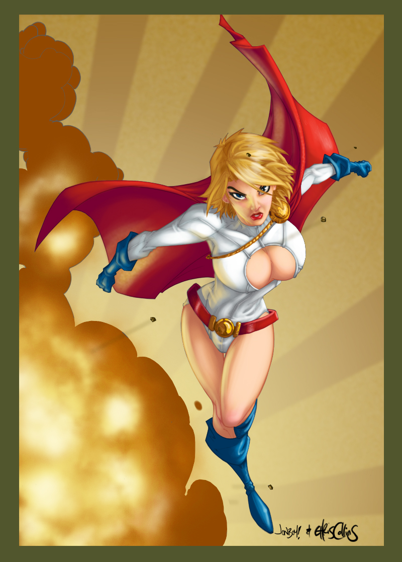 Jonboys Powergirl by slippyninja
