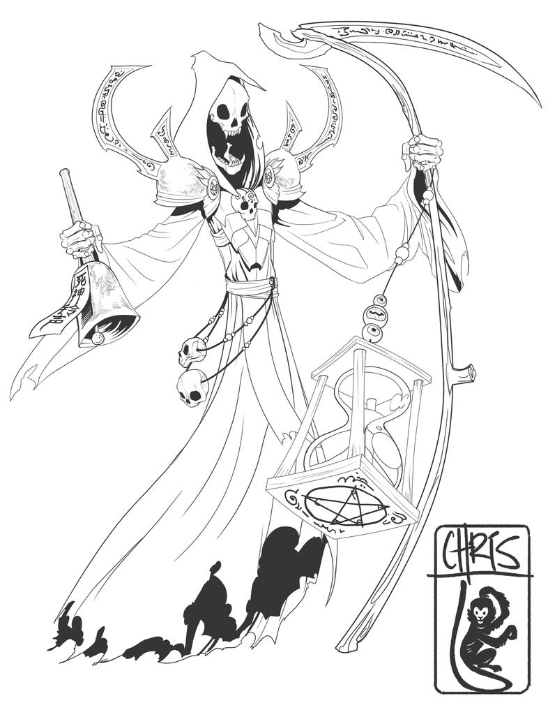Lego Grim Reaper Coloring Pages Coloring Pages Grim Reaper Coloring Pages