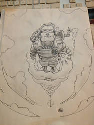 Green Lantern Sp by slippyninja