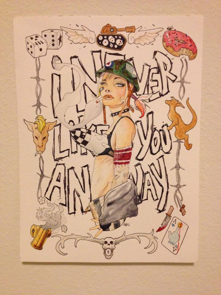 Tank Girl by slippyninja