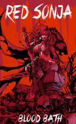 Red Sonja: Blood Bath by slippyninja