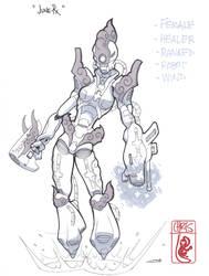 Daily Draw Char1 by slippyninja