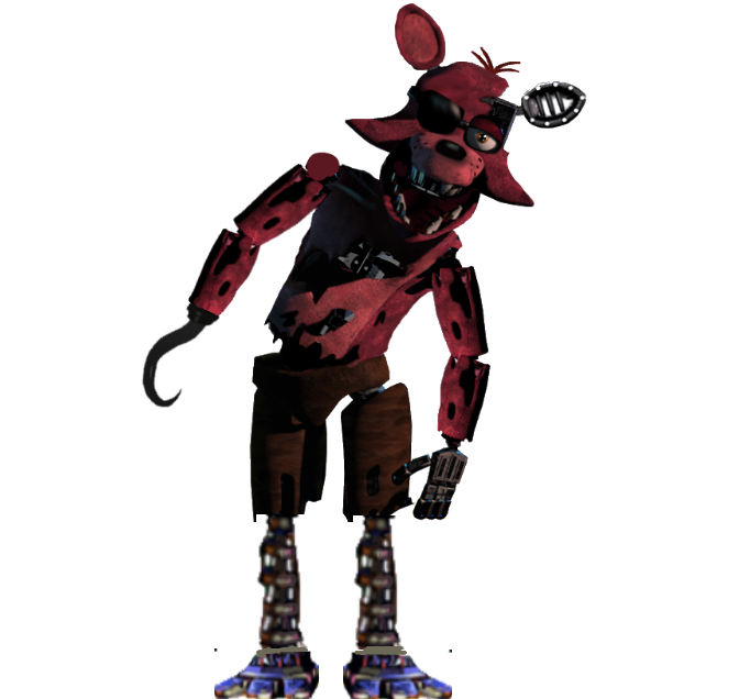 Withered Foxy By TheGoldenGamer90010 On DeviantArt