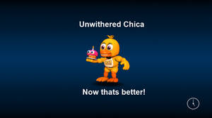 Adventure Unwithered Chica (Loading Screen)
