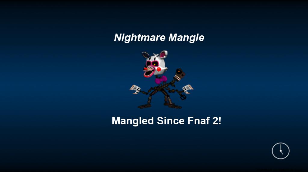 Adventure nightmare mangle 2 0 loading screen by thegoldengamer90010