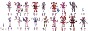 Sister Location Fusion Characters [Part 1]