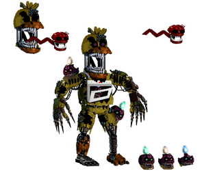 Scrapped Edits: TWISTED CHICA by TheGoldenGamer90010
