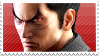 Kazuya Mishima Stamp (Tekken 7) by Princess-of-Thorn
