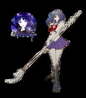 Sailor Saturn Render #2 by Princess-of-Thorn