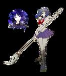 Sailor Saturn Render #2