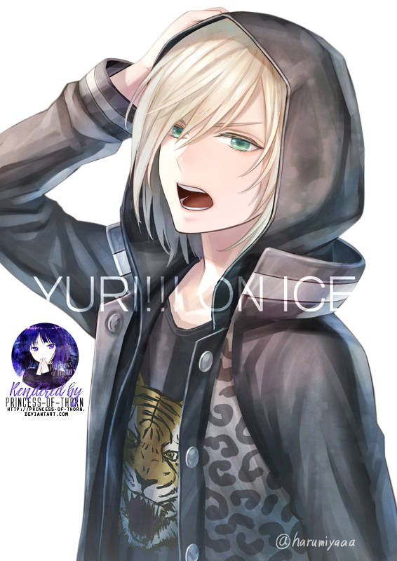 Yuri Plisetsky Render 2 By Princess Of Thorn