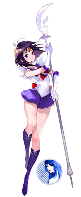 Sailor Saturn Render #5