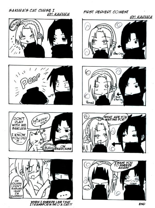 SasuSaku - First Pevert Coment by Karura-San