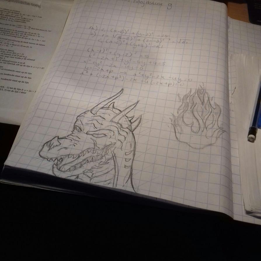 Math drawings by Livia-Anna