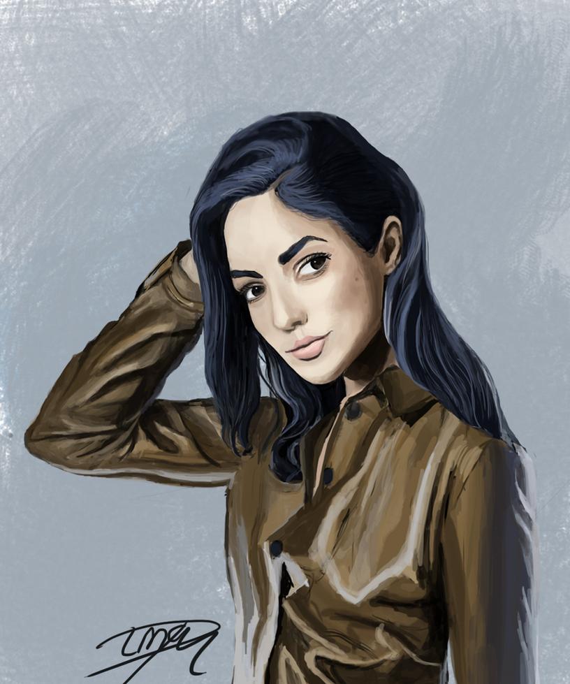 Portrait Gal Gadot by Livia-Anna