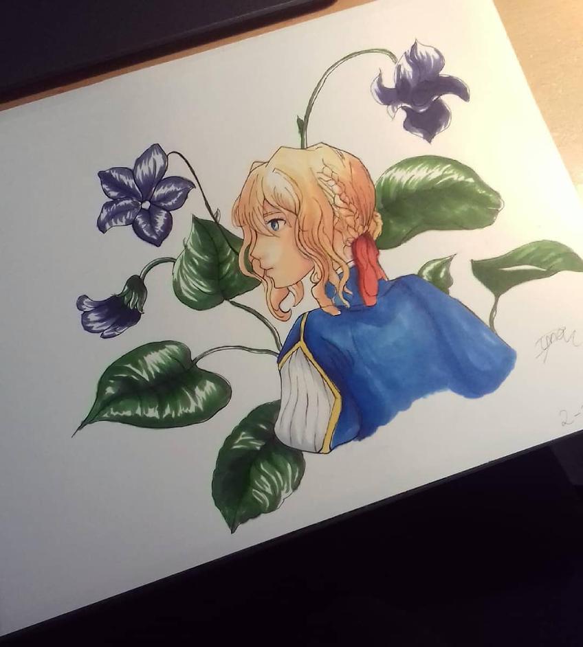 Violet by Livia-Anna