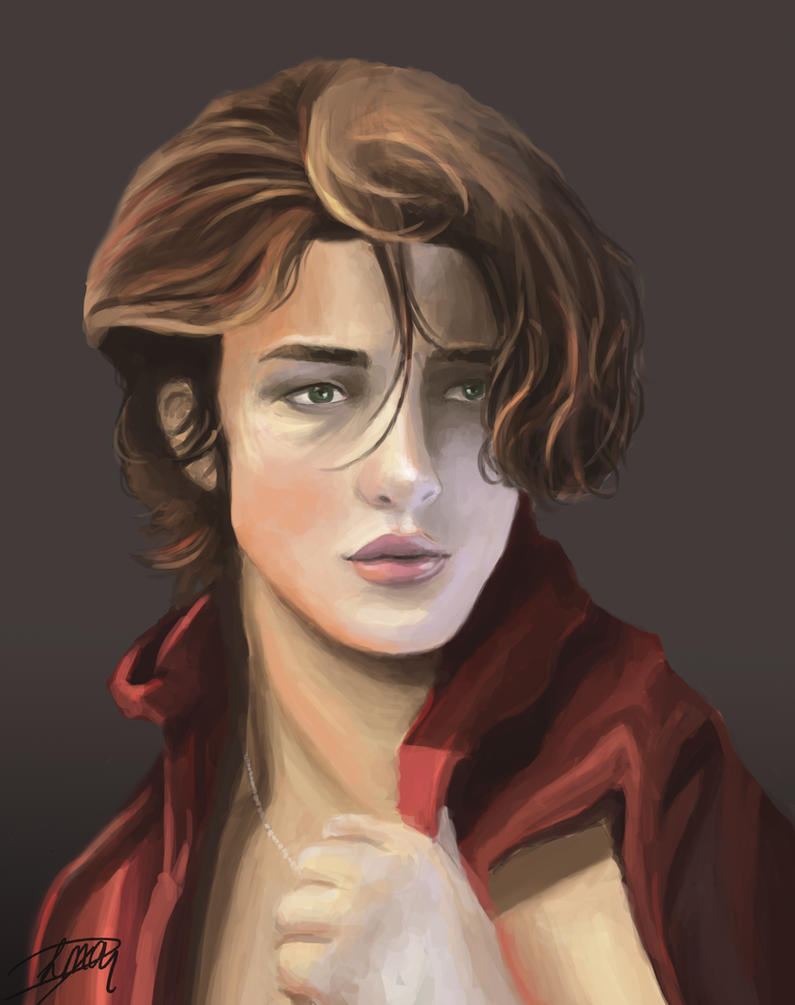 Dorian portrait by Livia-Anna