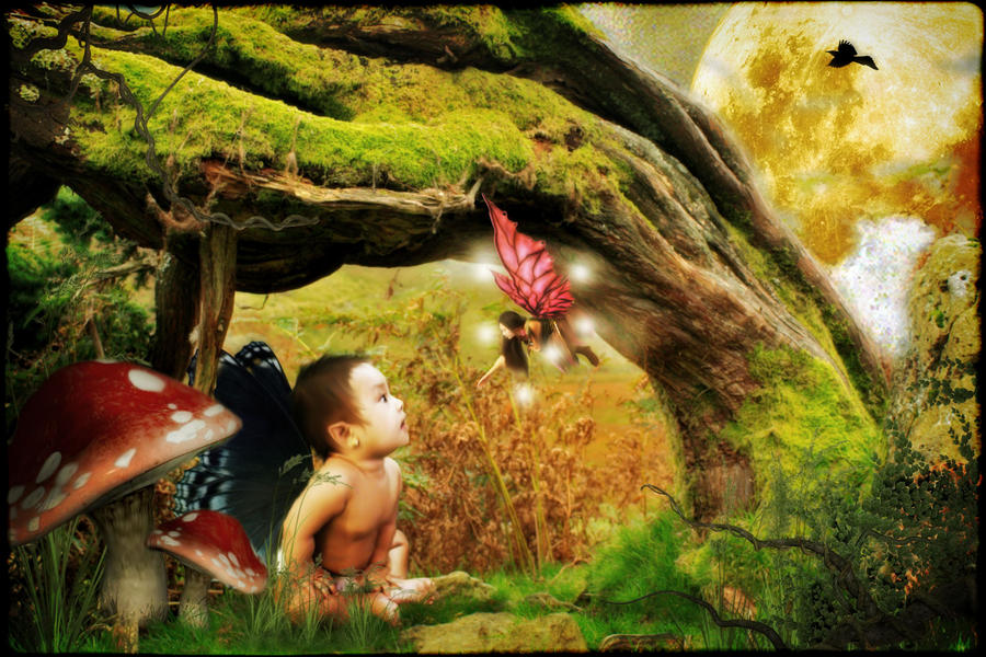 babysitting a baby fairy by bebydenden