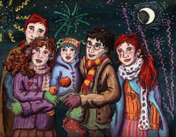 Fireworks by palantiriel