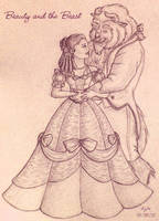 Beauty and the Beast by palantiriel
