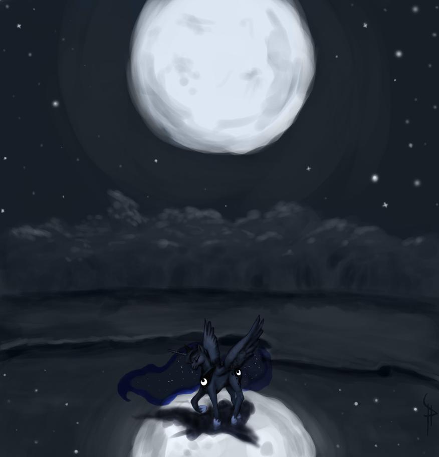 Luna's Lament by White-Pwny