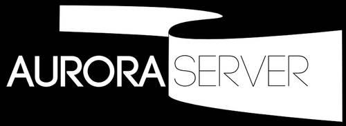 AuroraServer Logo (inverted) by thinkaliker